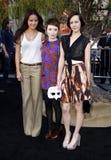 Jamie Chung, Emily Browning en Jena Malone Stock Afbeelding