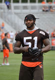 Jamie Collins Sr. NFL Cleveland Browns Stock Photo