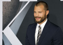 Jamie Dornan. At the Los Angeles premiere of `Fifty Shades Darker` held at the Theatre at Ace Hotel in Los Angeles, USA on February 2, 2017 Royalty Free Stock Photos