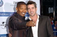 Jamie Foxx,Colin Farrell Royalty Free Stock Photo