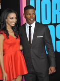 Jamie Foxx & Corinne Bishop Royalty Free Stock Image