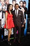 Jamie Foxx and Corinne Bishop Royalty Free Stock Images