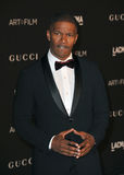 Jamie Foxx. LOS ANGELES, CA - NOVEMBER 1, 2014: Jamie Foxx at the 2014 LACMA Art+Film Gala at the Los Angeles County Museum of Art Royalty Free Stock Image