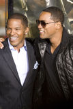 Jamie Foxx and Will Smith 2 Stock Image
