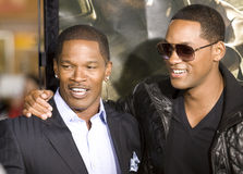 Jamie Foxx and Will Smith 7 Royalty Free Stock Images
