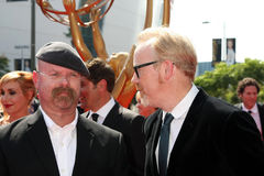 Jamie Hyneman, Adam Savage, Calvin Klein Royalty Free Stock Photos