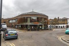 Jamie Italian Restaurant Building In Guildford photos stock