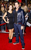 Jamie Kennedy et Jennifer Love Hewitt Photo libre de droits