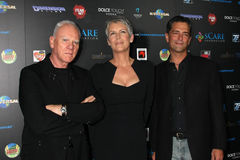 Jamie Lee Curtis, Malek Akkad Royalty Free Stock Images