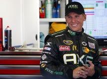 Jamie McMurray na garagem de NASCAR Imagem de Stock