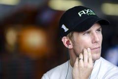 Jamie McMurray na garagem de NASCAR Imagens de Stock Royalty Free
