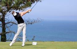Jamie Moul au défi 2013 de golf de Pleneuf Val Andre Photo libre de droits