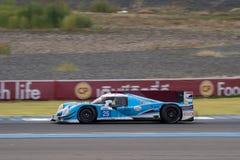 Jamie Winslow av Algarve pro-Racing i den asiatLe Mans serien - rommar Royaltyfri Fotografi