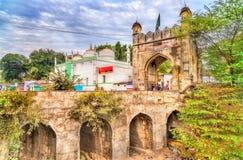 Jamil Baig Masjid Mosque and Mahmud Darwaza Gate in Aurangabad, India. Jamil Baig Masjid Mosque and Mahmud Darwaza Gate in Aurangabad, Maharashtra State of India Stock Image