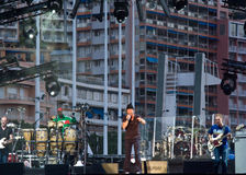 Jamiroquai show at Monaco Stock Photos