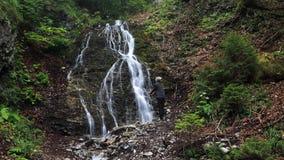 Jamisny vodopad , Velka Fatra , Slovakia Royalty Free Stock Image