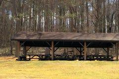 Jamison Reservoir Pavilion Westmoreland County Pennsylvania royaltyfria foton