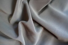 Jammed dark grey viscose, cotton and polyester fabric. Jammed dark gray viscose, cotton and polyester fabric Stock Image