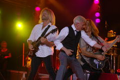 Jammin' : Dennis DeYoung in Blue Ash Stock Image