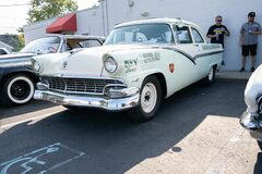 Roseville, Michigan / USA - 09-26-2020: 4th Annual Jammin At The Junction Car and Bike Show