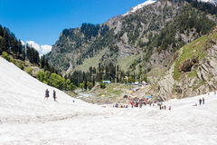 Jammu and Kashmir, Incredible India Royalty Free Stock Photo