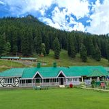 Jammu and Kashmir Tourism Hotel, Sonamarg Royalty Free Stock Images