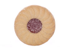 Jammy dodger biscuit Royalty Free Stock Photography