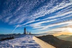 Jamnik en el invierno Fotos de archivo libres de regalías