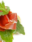 Jamon appetizer Royalty Free Stock Images