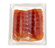 Jamon in blister Royalty Free Stock Photo