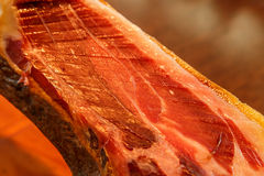 Jamon Iberico, typical spanish food Royalty Free Stock Images