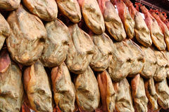 Jamon at the market Stock Photography