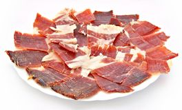 Jamon serrano Royalty Free Stock Photo