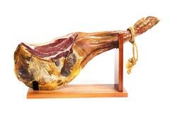 Jamon serrano. A Spanish ham Stock Photos