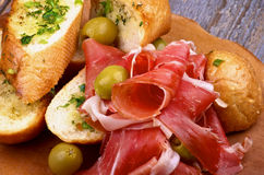 Jamon Tapas Stock Photos