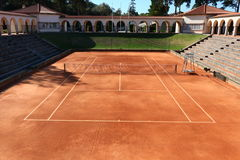 Jamor portugal tennis court Royalty Free Stock Photos