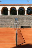 Jamor portugal tennis court corridor Royalty Free Stock Photos