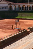 Jamor portugal tennis court corridor Stock Photo