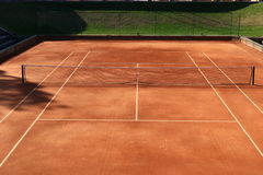 Jamor portugal tennis court corridor Royalty Free Stock Images