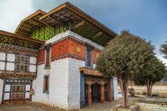 Jampey Lhakhang ?wi?tynia w Bhutan obraz stock