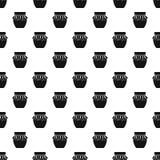 Jampotpatroon, eenvoudige stijl Stock Fotografie