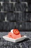 Jamroll de la fresa imagen de archivo libre de regalías