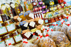 Jams and Preserves Stock Photography