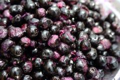 Jamun Fruits. Group of fresh jamun fruits royalty free stock image