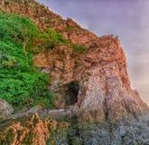 jamy składu góry natura Zdjęcia Stock