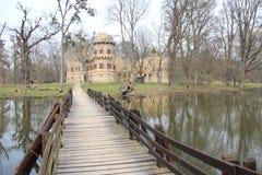 Janův hrad, Castle του Ιαν., Lednice, Δημοκρατία της Τσεχίας, Μοραβία στοκ εικόνες με δικαίωμα ελεύθερης χρήσης