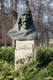 Jan Amos Komensky. Statue sculpture Stock Photo