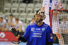 Jan Binder -floorball Stock Photos