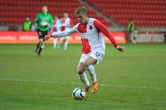 Jan. Blazek - Slavia Prag Lizenzfreie Stockfotografie