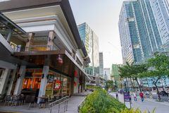Jan 20,2018 At front of Up Town Mall at Shopping, Taguig City. Philippines Royalty Free Stock Image